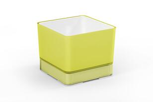 Plastový kvetináč Cube 120 žltá