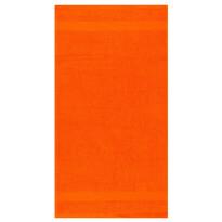 Osuška Olivia tmavě oranžová, 70 x 140 cm