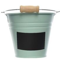 Vedro s popisovacím štítkom zelená, pr. 11 cm