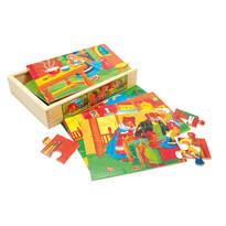 Bino Puzzle v krabičce Pohádka
