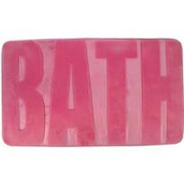 Covor de baie Bath roz închis, 45 x 75 cm
