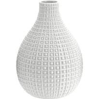 Keramická váza Pompei šedá, 28 cm