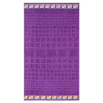 Ręcznik Mozaik fioletowy