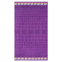 Ručník Mozaik fialová