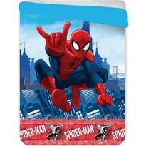 Dětská prošívaná přikrývka Spiderman, 180 x 260 cm
