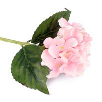 Umelá kvetina Hortenzia ružová