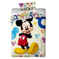 Detské bavlnené obliečky Mickey colours, 140 x 200 cm, 70 x 90 cm