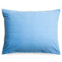 Obličeka na vankúš krep modrá, 70 x 90 cm
