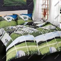 Matějovský bavlnené obliečky Golf story, 140 x 200 cm, 70 x 90 cm