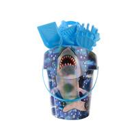 Set na písek Žralok, modrá