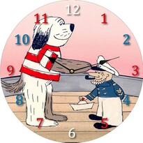Zegar naścienny Maxipes Fik, 34 cm