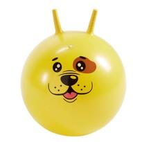 Skákací míč Pejsek žlutá, 45 cm