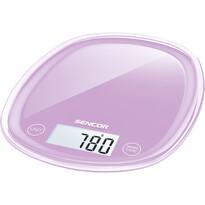 Sencor SKS 35VT kuchynská váha, fialová
