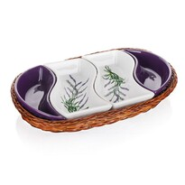 Boluri de servire în coș Banquet Lavender 30,5 cm