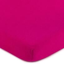 Cearşaf 4Home jersey, roz