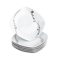 Domestic 6-częściowy zestaw talerzy deserowych Londra, 19 cm