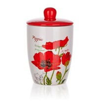 Banquet Red Poppy dóza s viečkom 600 ml