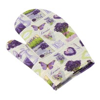 Rękawica kuchenna Gita Provence - Bukiet lawendy, 28 x 18 cm