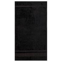 Ręcznik Bamboo czarny, 50 x 90 cm