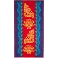 Plážová osuška Sea shell, 90 x 180 cm