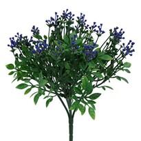 Arbust artificial albastru