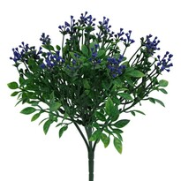 Umelý krík Bršlen, modrá