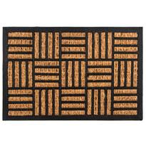 Kokosová rohožka Squares, 40 x 60 cm