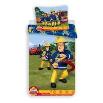 Dětské bavlněné povlečení Požárník Sam 008, 140 x 200 cm, 70 x 90 cm