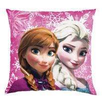 Polštářek Ledové království Frozen sisters, 40 x 40 cm