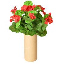 Umělý Muškát červená, 30 cm