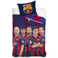 Bavlnené obliečky FC Barcelona Hráči, 140 x 200 cm, 70 x 80 cm