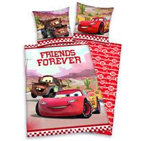 Detské bavlnené obliečky Cars Friends Forever, 140 x 200 cm, 70 x 90 cm