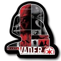 Pernă cu formă aparte Darth Vader, 31 x 19 cm