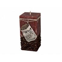 Lumânare decorativă Coffee Bag maro, 14 cm
