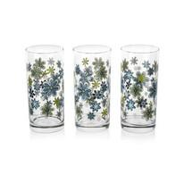 Istanbul Pohár modré kvety 3 ks