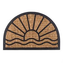 Venkovní rohožka Exotic půlkruh, 40 x 60 cm