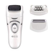 ECG OP 300 Epilátor/talpreszelő 3v1 cserélhető fejjel