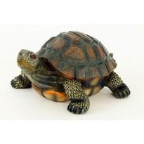 Decoraţiune de grădină Broască ţestoasă, maro