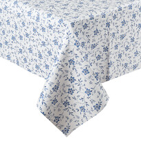 Kék virág abrosz, 140 x 160 cm