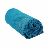 Ręcznik chłodzący niebieski, 90 x 32 cm