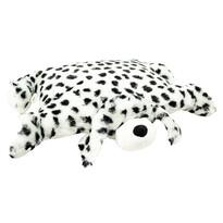 Poduszka Dalmatyńczyk z guzikiem duża, 55 x 75 cm