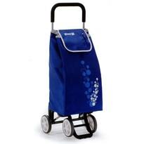 Gimi Twin nákupná taška na kolieskach modrá