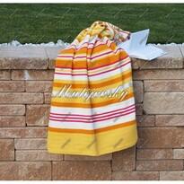 Matějovský bavlnená deka Summer žltá, 160 x 220 cm
