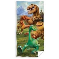 Ręcznik kąpielowy Dobry dinozaur, 70 x 140 cm