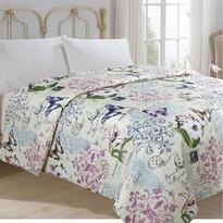 Prehoz na posteľ Motýľ, 140 x 220 cm