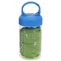 Chladící ručník v lahvi, zelená