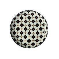 Maxwell & Williams Marigold dezertní talíř  Black Flower, 18,5 cm