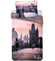 Bavlněné povlečení Praha - Romantique, 140 x 200 cm, 70 x 90 cm