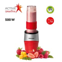 Concept SM3382 Smoothie maker  Active Smoothie 500 W červená 1 x 570 ml