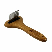 Bamboo Groom Vyčesávací hrebeň, dĺžka zubov 3,5 cm